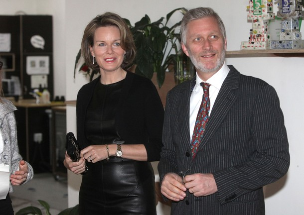 Mathilde et Philippe au hub