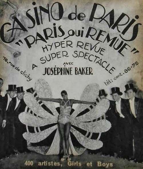 3 Juin 1906 : naissance de Joséphine Baker