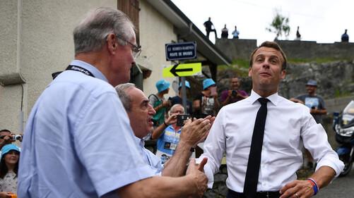 Réforme des retraites, violences policières, affaire Rugy : Macron critiqué dans les Pyrénées