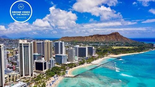 HAWAII AERIAL TIME LAPSE 4K, Airvuz (Voyages)