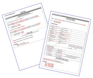 Ceintures d'orthographe CM2