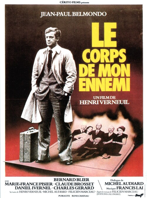 LE CORPS DE MON ENNEMI - BOX OFFICE JEAN-PAUL BELMONDO 1976