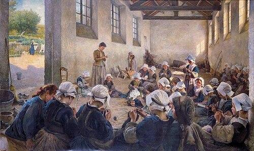 De quoi vivent les instituteurs au 19ème siècle?