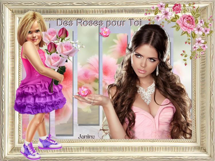 Des Roses Pour  Toi  Défi chez Arlette