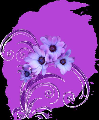 Eléments Vectorels (fleuris) Série 16
