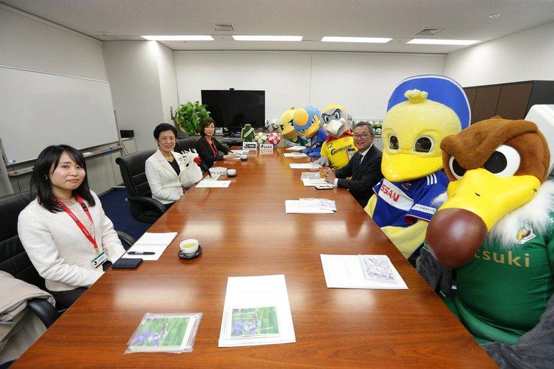 """J-League Bird Party"""