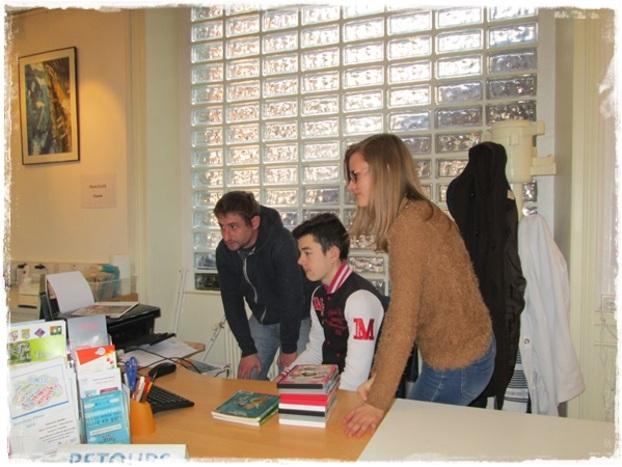 L'Espace Jeunes à la découverte de la Médiathèque