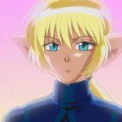 Le chevalier d'azur (Le chevalier bleu)