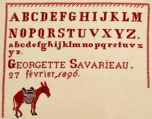 Georgette Savarieau etape 6