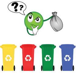 Tri sélectif des déchets (niveau ce1/ce2)