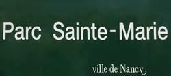 Nancy : une petite visite au Parc Sainte Marie ....