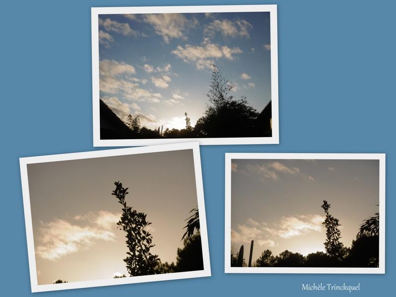 Le ciel au soir du 4 janvier...