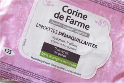 Du démaquillage avec Corinne de Farme