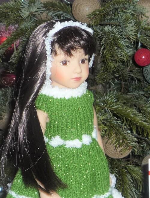 Marylou opte pour le vert de l'espérance
