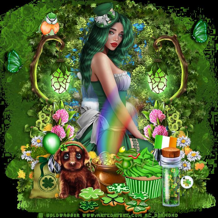 Défi Saint-Patrick chez l'oasis du psp