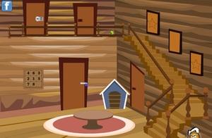 Jouer à Modern wood house escape