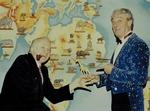 Cirque Jean Richard , avec Roger Lanzac , Monsieur Loyal pour la saison