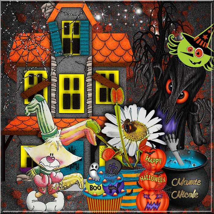 ♥♥ dernière page Halloween , âmes sensibles s'abstenir ...♥♥