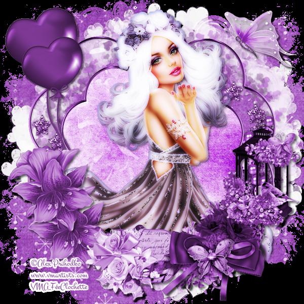 Purple spring fantasy