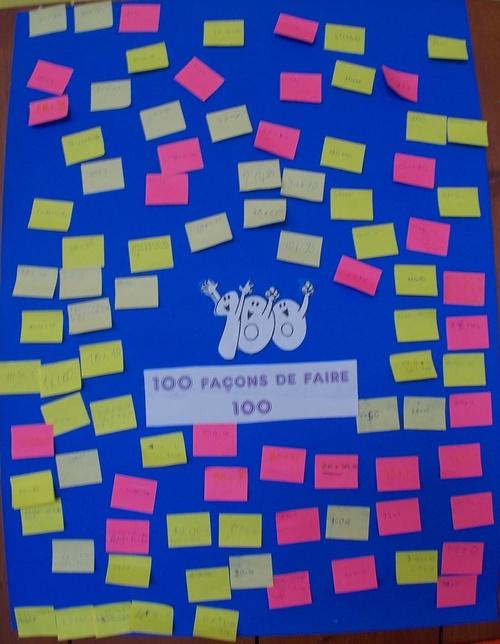 Bilan du centième jour: les affiches collectives