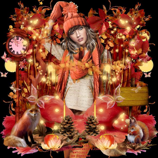 """Tuto """"Vive l'automne"""" de Liligraph chez Delire2scrap"""
