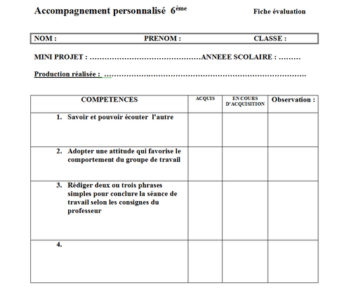 Accompagnement Perso