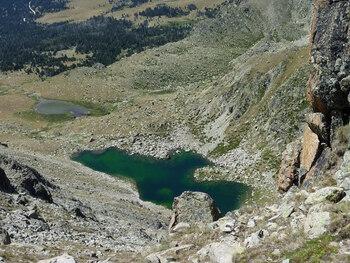 Zoom sur le lac de Setut