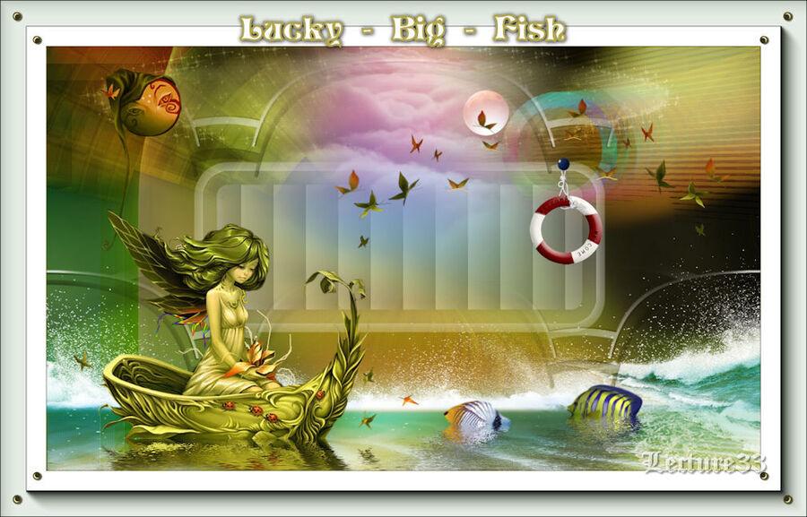 LUCKY BIG FISCH