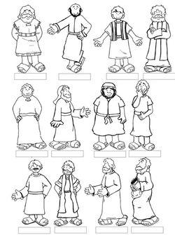 Jésus choisit ses disciples (visuels)