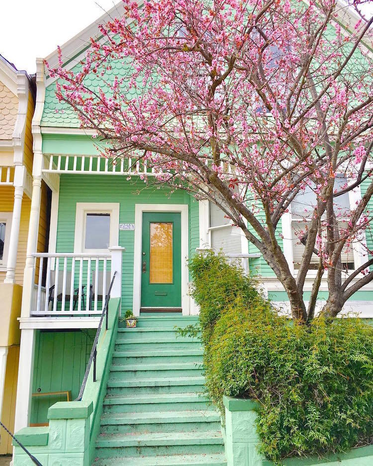 Les-maisons-en-couleurs-de-San-Francisco-11 Les maisons en couleurs de San Francisco
