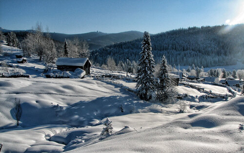 Gyönyörű téli tájképek 2.