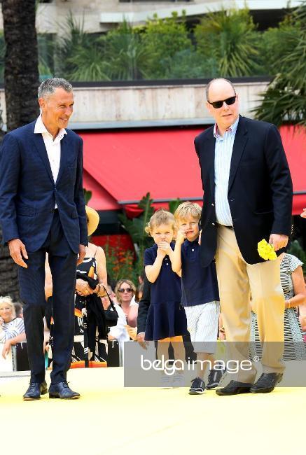 Jacques et Gabriella au festival TV de Monte Carlo