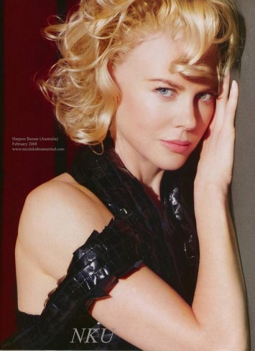 * Nicole Kidman.