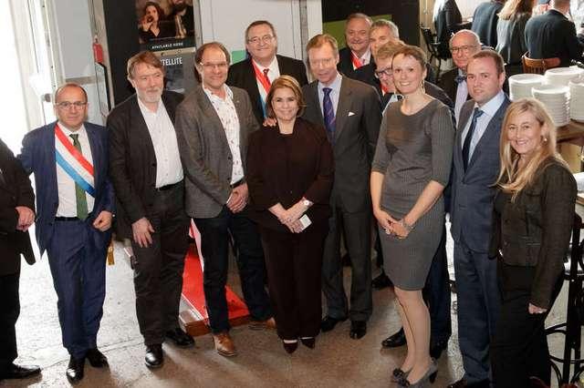Inauguration du 6zero1, incubateur d'entreprises sociales