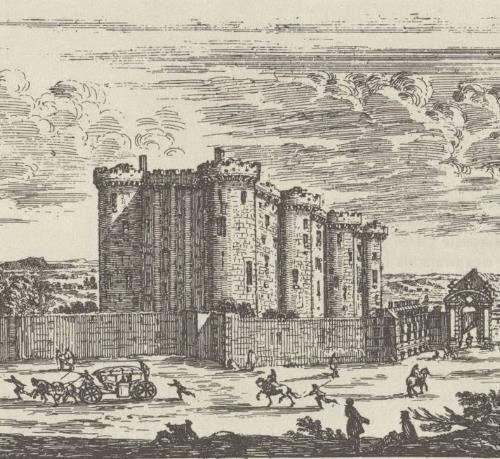 22 avril1369 : début de la construction de la Bastille