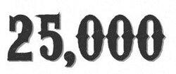25000 !!!