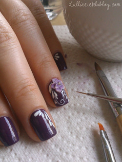 Nail Art - Retour en 3D