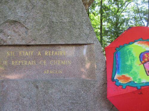 Ombrelles et lieux historiques