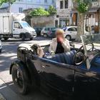 En balade avec Doggy dans la Bugatti !