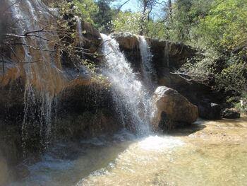 Une des cascades du Gaudin