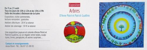 """""""Arbres"""" - une exposition bien annoncée !"""