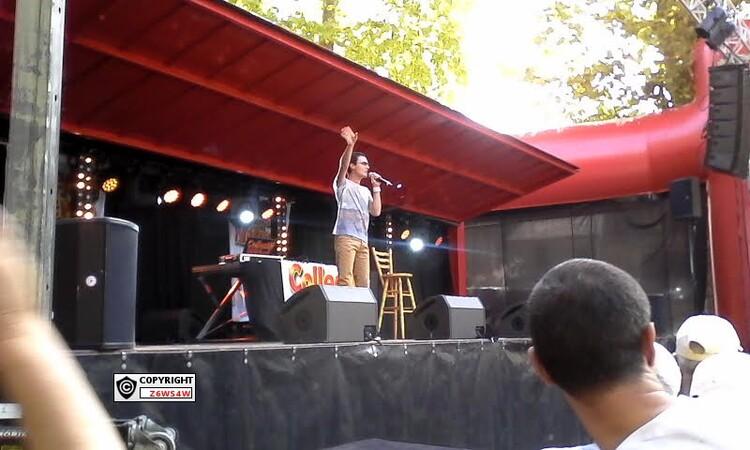 Concert a Castets- en- Dorthes en première partie avant Eve Angeli