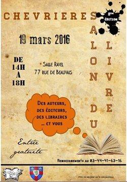 Salon du Livre de Chevrières - 19/03/2016