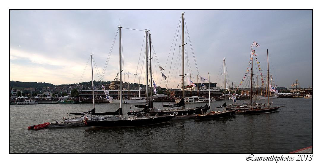 Les Pen Duick à l'armada de Rouen