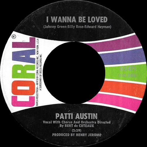 "Patti Austin : CD "" The Singles RCA Victor, Coral & ABC Records 1956-1968 "" SB Records DP 94 [ FR ]"