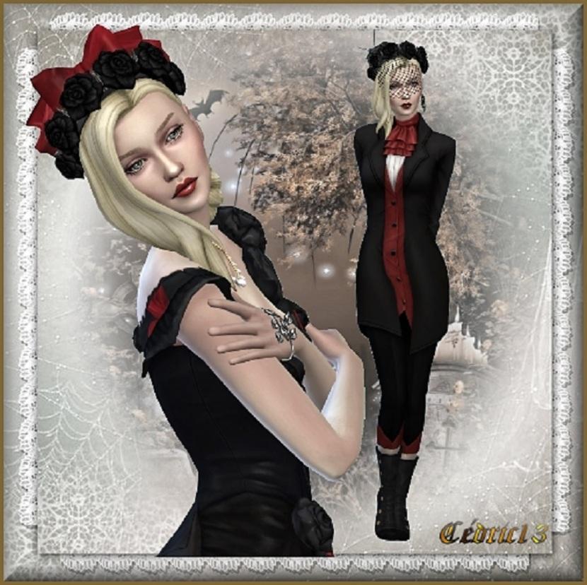 TS4 Sim: Anne Gothica