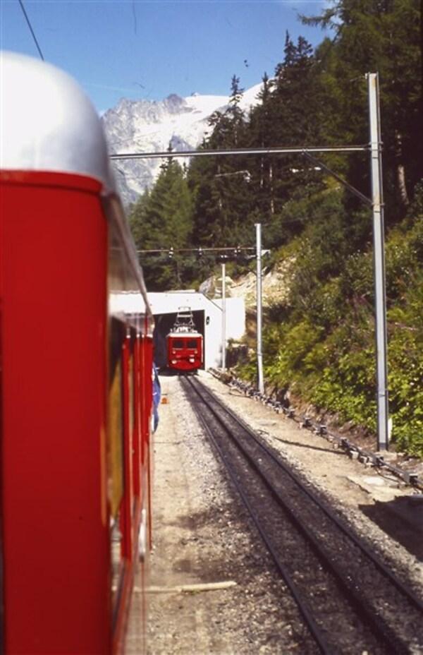 Chamonix et Mer de Glace + Le train de Montenvers - Aout 1992