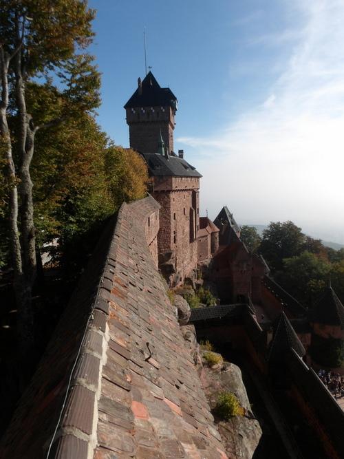 Le château du Haut-Koenigsbourg ( 1 )