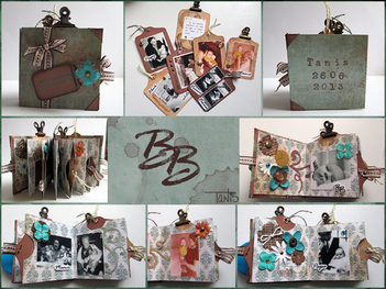 BB - Mini-album à tiroirs