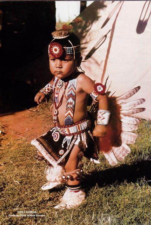 Carte postale Amérindienne